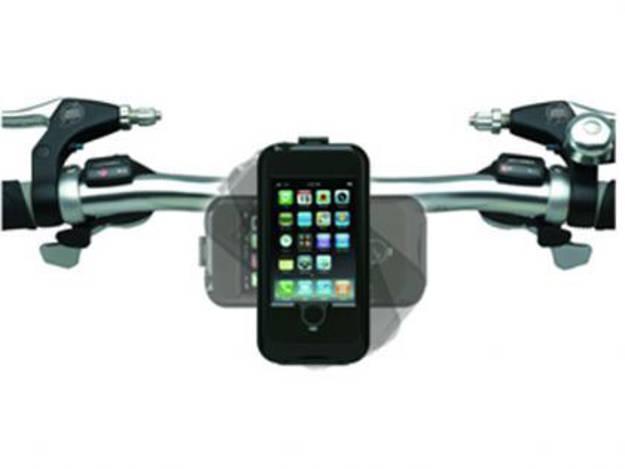 אופנוסנטר, ציוד לאופנועים ואביזרים לאופנוע - תושבת נגד מים לכידון ל-I PHONE SAMSUNG/ ומכשירי SMART PHONES