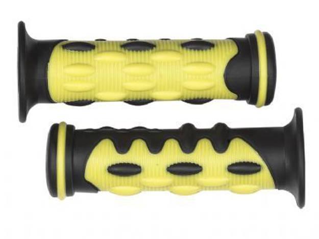 אופנוסנטר, ציוד לאופנועים ואביזרים לאופנוע - ידית לאופנוע דגם CRUX צבע צהוב