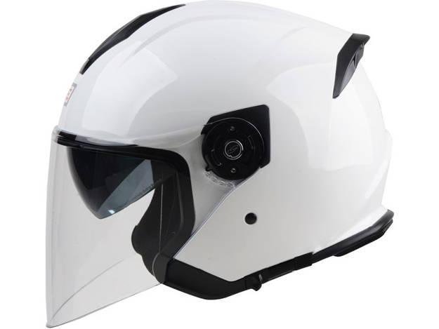 אופנוסנטר, ציוד לאופנועים ואביזרים לאופנוע - קסדת ORIGINE דגם CINCO צבע לבן