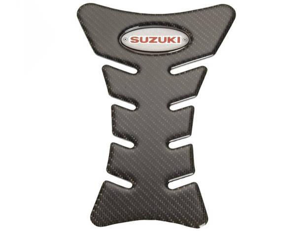 אופנוסנטר, ציוד לאופנועים ואביזרים לאופנוע - מדבקת מיכל קרבון Suzuki