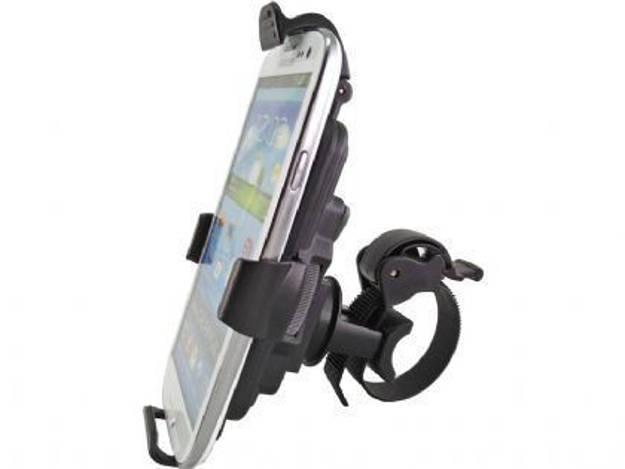 אופנוסנטר, ציוד לאופנועים ואביזרים לאופנוע - מעמד לטלפון סלולרי עם חבק לכידון