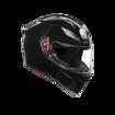 אופנוסנטר, ציוד לאופנועים ואביזרים לאופנוע - קסדת AGV דגם K1 צבע שחור מבריק