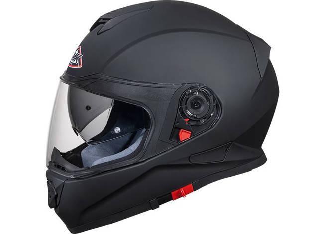 אופנוסנטר, ציוד לאופנועים ואביזרים לאופנוע - קסדה נפתחת SMK דגם GLIDE צבע שחור