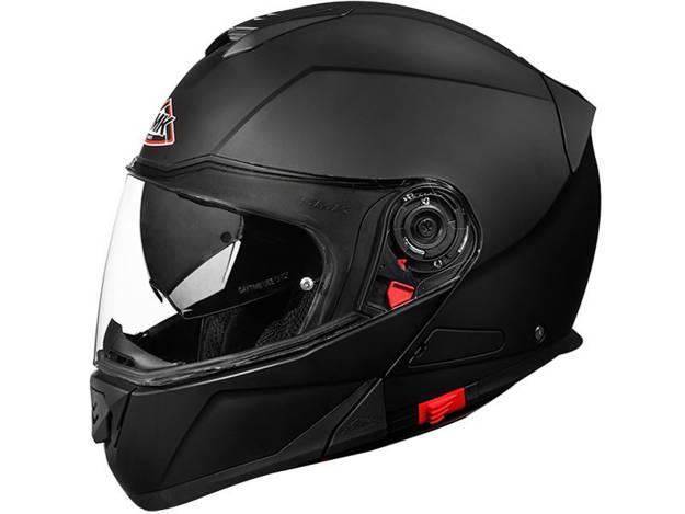 אופנוסנטר, ציוד לאופנועים ואביזרים לאופנוע - קסדה מלאה SMK דגם TWISTER צבע שחור מט
