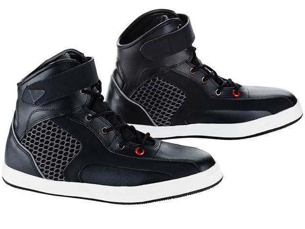 אופנוסנטר, ציוד לאופנועים ואביזרים לאופנוע - נעלי רכיבה בגזרה קצרה RED דגם Air Urban