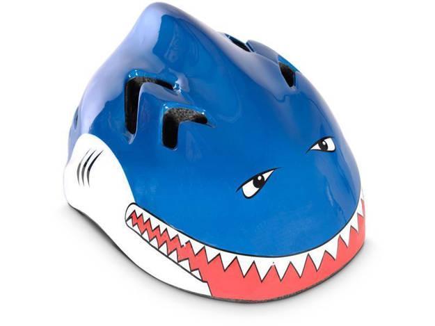 אופנוסנטר, ציוד לאופנועים ואביזרים לאופנוע - קסדת אופניים לילדים OXFORD בצורת כריש