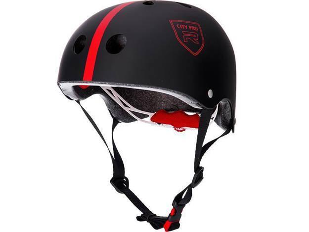 אופנוסנטר, ציוד לאופנועים ואביזרים לאופנוע - **מוצר החודש** קסדת אופניים RED דגם CITY PRO אדום