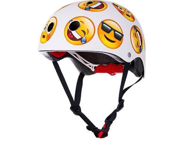 אופנוסנטר, ציוד לאופנועים ואביזרים לאופנוע - **מוצר החודש** קסדת אופניים לילדים RED דגם CITY PRO אימוג'י