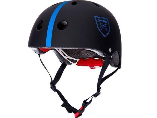 אופנוסנטר, ציוד לאופנועים ואביזרים לאופנוע - **מוצר החודש** קסדת אופניים לילדים RED דגם CITY PRO כחול