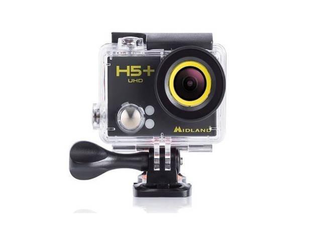 אופנוסנטר, ציוד לאופנועים ואביזרים לאופנוע - מצלמת אקסטרים MIDLAND דגם H5+
