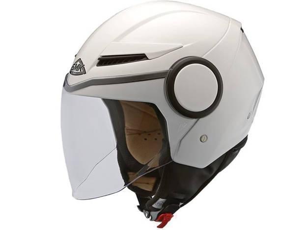 אופנוסנטר, ציוד לאופנועים ואביזרים לאופנוע - קסדת SMK דגם STREEM לבן