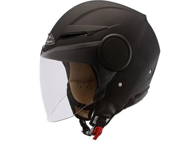 אופנוסנטר, ציוד לאופנועים ואביזרים לאופנוע - קסדת SMK דגם STREEM שחור מט