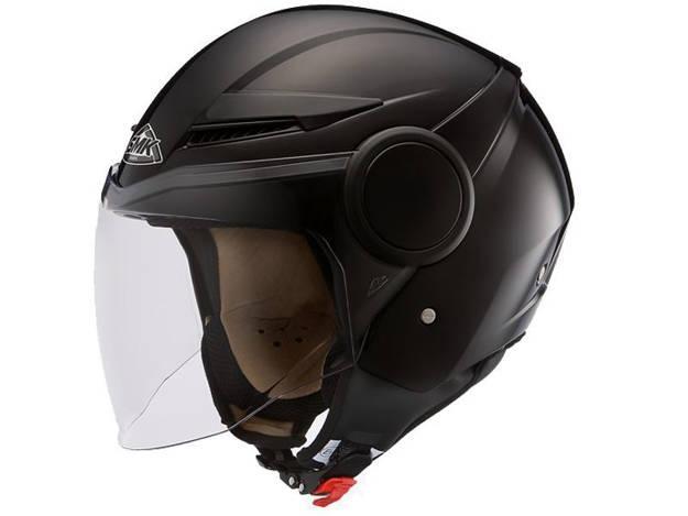 אופנוסנטר, ציוד לאופנועים ואביזרים לאופנוע - קסדת SMK דגם STREEM שחור מבריק