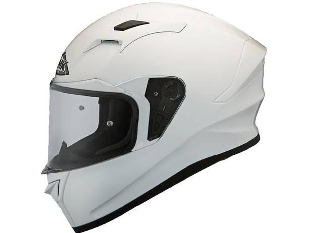 אופנוסנטר, ציוד לאופנועים ואביזרים לאופנוע - קסדה מלאה SMK דגם STELLAR צבע  לבן