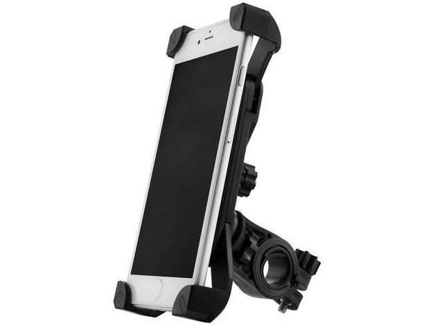 אופנוסנטר, ציוד לאופנועים ואביזרים לאופנוע - מתקן לטלפון סלולרי מותאם לכידון