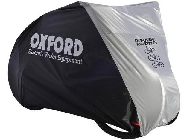 אופנוסנטר, ציוד לאופנועים ואביזרים לאופנוע - כיסוי ל- 3 זוגות אופניים OXFORD