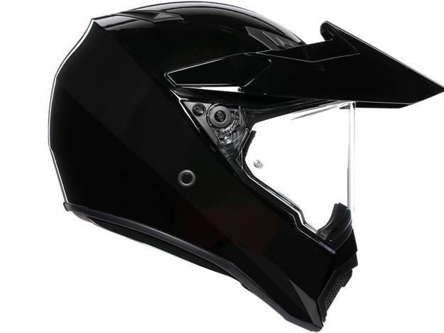 ���������, ���� ��������� �������� ������� - קסדת AGV דגם AX9 צבע שחור