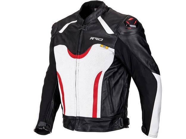 ���������, ���� ��������� �������� ������� - מעיל עור RED דגם RACE TRACK