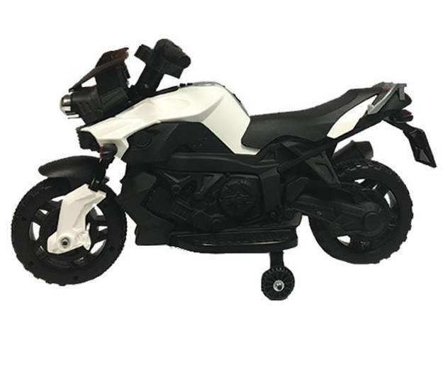 תמונה של אופנוע במוו 6V - לבן