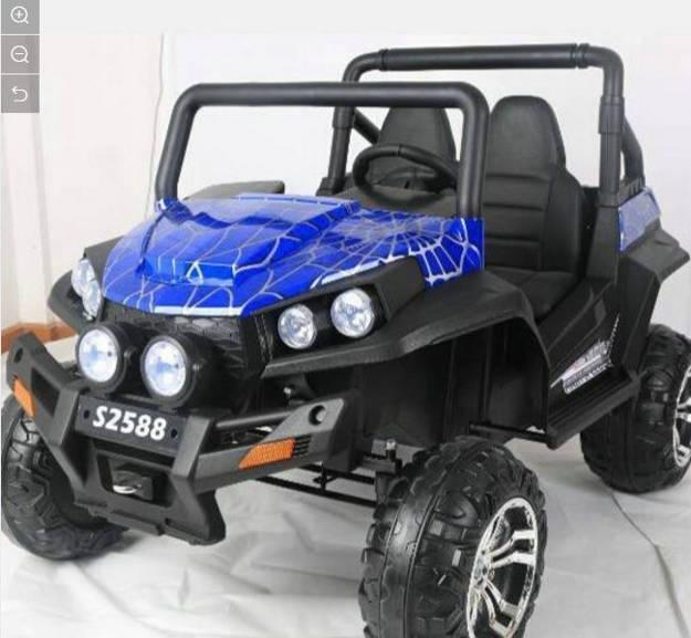 תמונה של ג'יפ פולאריס RZRT24R  24V- כחול