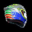 אופנוסנטר, ציוד לאופנועים ואביזרים לאופנוע - קסדה מלאה  AGV דגם K1 צבע MUGELLO 2015