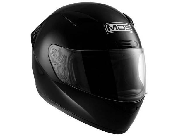 אופנוסנטר, ציוד לאופנועים ואביזרים לאופנוע - קסדה מלאה לאופנוע MDS שגם M13 שחור מט