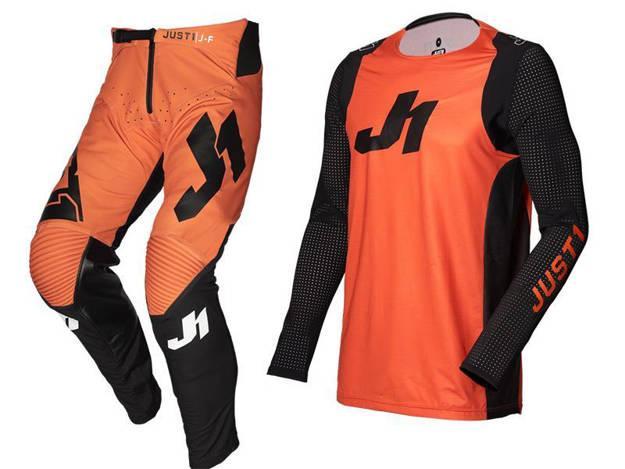 אופנוסנטר, ציוד לאופנועים ואביזרים לאופנוע - חליפת שטח ילדים JUST1 דגם J-FLEX JERSEY כתום