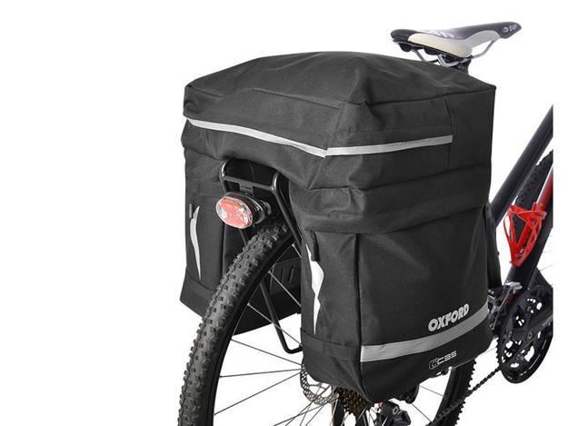 אופנוסנטר, ציוד לאופנועים ואביזרים לאופנוע - תיק נשיאה משולש לסבל אופניים OXFORD