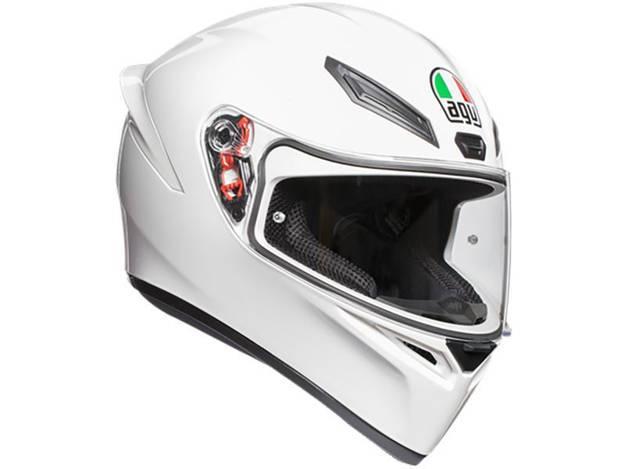 אופנוסנטר, ציוד לאופנועים ואביזרים לאופנוע - קסדת AGV דגם K1 צבע לבן