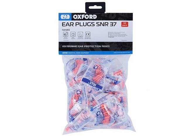 אופנוסנטר, ציוד לאופנועים ואביזרים לאופנוע - זוג אטמי אוזניים OXFORD