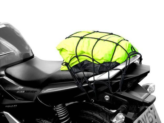 אופנוסנטר, ציוד לאופנועים ואביזרים לאופנוע - רשת מטען גודל XL