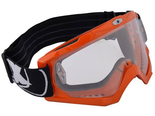 אופנוסנטר, ציוד לאופנועים ואביזרים לאופנוע - משקפי אבק Assault Pro כתום OXFORD