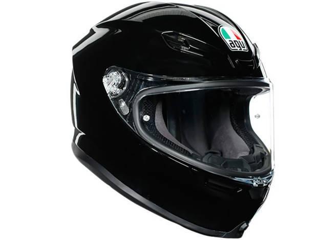 אופנוסנטר, ציוד לאופנועים ואביזרים לאופנוע - קסדה מלאה AGV דגם K-6 צבע שחור