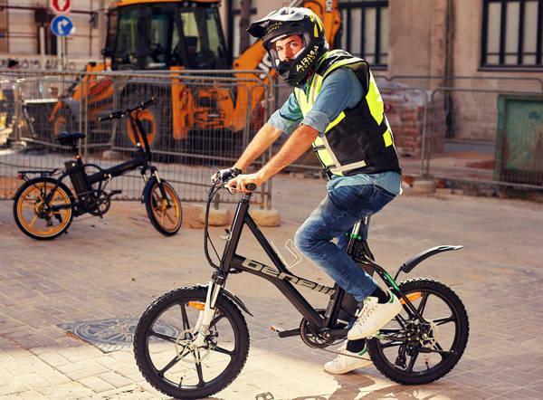 תמונה עבור הקטגוריה מיגון לרוכב אופניים חשמליים
