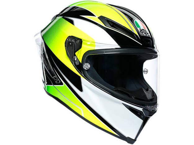 תמונה של קסדת AGV דגם CORSA R צבע SUPERSPORT