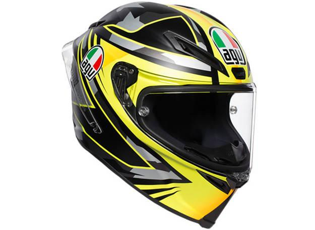 תמונה של קסדת AGV דגם CORSA R צבע MIR WINTER TEST 18