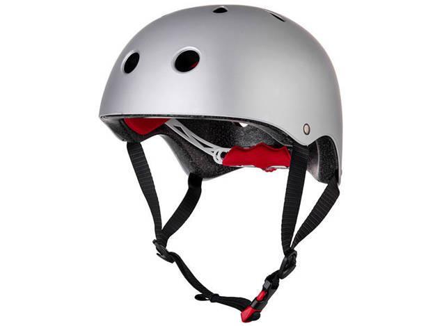 אופנוסנטר, ציוד לאופנועים ואביזרים לאופנוע - קסדת אופניים RED דגם CITY PRO כסף