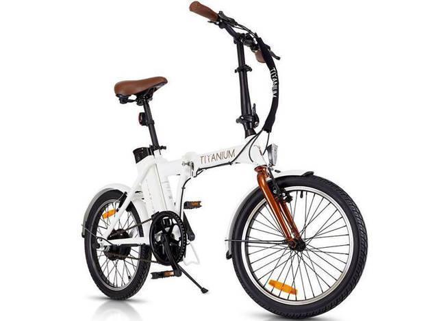 אופנוסנטר, ציוד לאופנועים ואביזרים לאופנוע - 36V אופניים חשמליים  CLASSIC צבע לבן