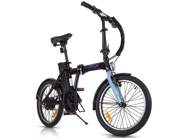 אופנוסנטר, ציוד לאופנועים ואביזרים לאופנוע - 36V אופניים חשמליים CLASSIC צבע שחור