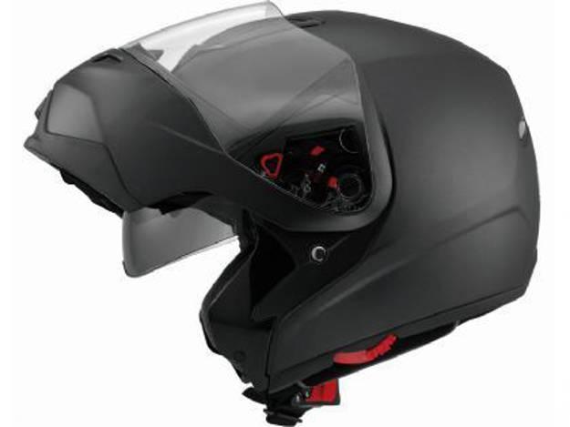 אופנוסנטר, ציוד לאופנועים ואביזרים לאופנוע - קסדה נפתחת MDS דגם MD200 צבע שחור מט