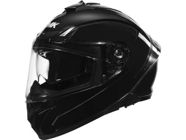 אופנוסנטר, ציוד לאופנועים ואביזרים לאופנוע - קסדה מלאה  SMK דגם TYPHOON צבע שחור